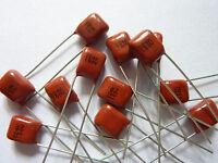 100pcs 100V 224 K 0.22uf 220nf 220000pf P5 CL21X CBB metal film capacitor