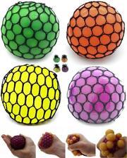 4x Quetschball im Netz 6 cm Stressball Antistressball Quetsch Streß Wut Ball