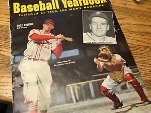Vintage Baseball Yearbook, 1952 edition
