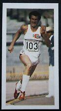 Juantorena   Cuban  400m & 800m Runner   Action Photo Card # VGC