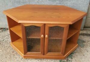 "Teak TV Corner Unit ""Trafalga"" by James H Sutcliffe & Sons"