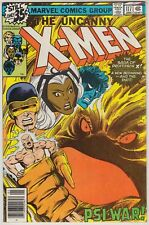 UNCANNY X-MEN #117, #125, #126, #127, & #128, MARVEL 1979, AVG GRADE VF-
