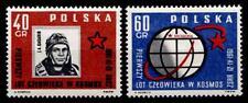 Erster erfolgreicher bemannter Weltraumflug. Jurij Gagarin. 2W. Polen 1961