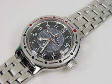 Brutal !! Automatic amphibian watch VOSTOK. 200m WR. 2416b. 420831. Submarine.