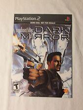 Syphon Filter: Dark Mirror  (Demo Disc) (Sony PlayStation 2, 2007)