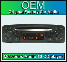 MERCEDES C-Class Audio 10 CD Player, Merc w203 STEREO AUTO + Codice Radio