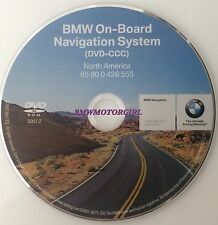 BMW NAVIGATION DVD DISC CD 2007.2 GPS MAP NAVAGATION DISK SERIES 3,5,7,M3,X5,