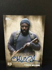 The Walking Dead Season 5 Chad L. Coleman / Tyreese Wiliams Autograph Autogramm