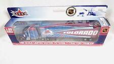 COLORADO AVALANCHE TRACTOR TRAILER NHL 2003 REPLICA SEMI DIECAST TRUCK 1:80 SCL