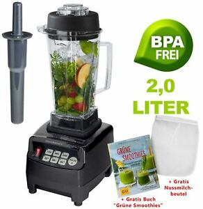 JTC Omniblend V Power Mixer Blender Icecrusher 2,0l BPA-Frei +B. Grüne Smoothies