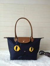 Longchamp - Navy Blue Handbag Le Pliage Cat 2605 Small tote bag