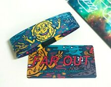 ZOX **FAR OUT** Silver Strap med Wristband w/Card New Mystery Pack