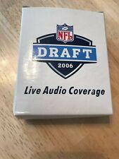 NFL FOOTBALL DRAFT 2006 FM RADIO Promo Item Live Audio Coverage NEW in BOX Rare!