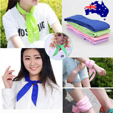 10x Handy Neck Cooler Non-toxic Personal Scarf Body Ice Cool Cooling Wrap ON