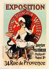 1920s Exposition Vintage French Nouveau France Poster Print Art