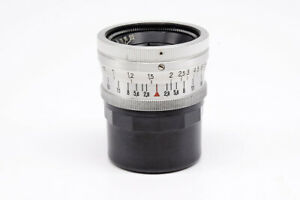 EX+ Rare Carl Zeiss Jena Biogon 35mm f/2.8 T Original Leica L39 Screw #HK8093X