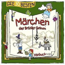 Die 30 besten Märchen der Brüder Grimm (2013, Audio-CD)