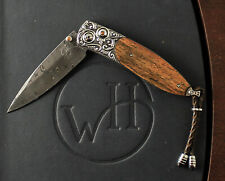 William Henry Studio Limited Edition Monarch Pipe Creek Knife #24/50