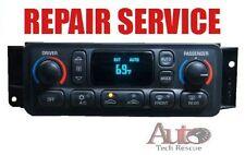 97 98 99 00 01 02 03 04 Corvette Digital Heater & A/C Climate Control REPAIR