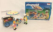 Playmobil 3244 Ice Cream Cart 2003 Geobra *Boxed* *Complete Contents* Rare