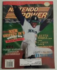 NINTENDO POWER Magazine Vintage Issue # 84 May 1996 - KEN GRIFFEY, JR. On Cover