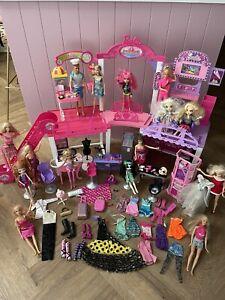 Amazing Barbie Malibu Avenue Mall PLUS Lots Of Dolls AccessoriesClothing & More