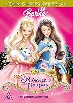 Barbie: The Princess and the Pauper * NEW DVD * (Region 4 Australia)