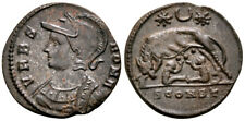 URBS ROMA (331 AD) Extremely Rare Follis. Arles #GT 7162
