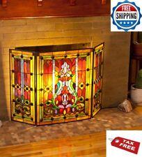 stained glass fireplace screens doors for sale ebay rh ebay com