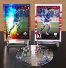 Donruss Soccer 2016 Leroy Sane Rookie Cards X2 Donruss debuts Silver Holo + Base
