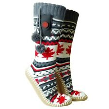 Heated slippers with socks, size: 5-10