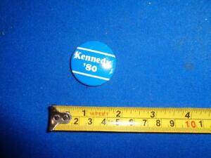 1980 KENNEDY '80 CAMPAIGN PIN/BUTTONS