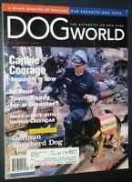 Dogs World Illustrated Magazine German Shepherd Cover + 9/11 Article Dec 2001