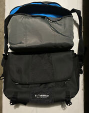 Timbuk2 Classic Messenger Bag Small Custom Camera Compartment Black Laptop
