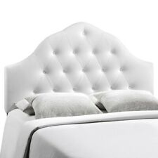 Modway Furniture Sovereign Full Vinyl Headboard, White - MOD-5165-WHI