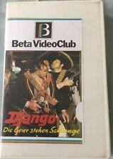 VHS Django - Die Geier stehen Schlange (1966) FSK 18 Italowestern