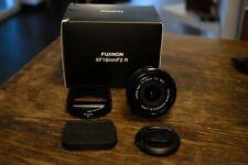 Fujifilm Fujinon xf 18mm f/2 usato