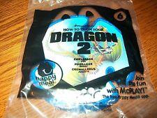 McDonald's How to Train Your Dragon 2 Zippleback Frisbee Happy Meal Toy NIP #6