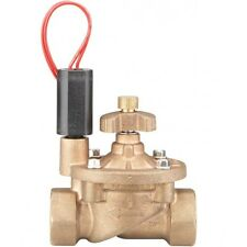 Hunter IBV BRASS SOLENOID VALVE +Flow Control,25mm Female Thread 24VAC*USA Brand
