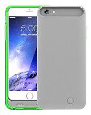 Nueva Batería extendida de emergencia Mota 4,000mAh Clip-On caso cubierta para iPhone 6 Plus