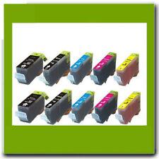 10 NON-OEM PGI220/CLI221K/C/Y/M INK for CANON MX860 MX870 MP620 MP630 iP4600