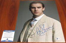 Dan Stevens Signed 11x14 Downton Abbey Matthew Crawley B and B BAS Beckett