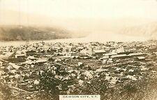 Canada, Yukon Territory, Dawson City, Bird's-Eye View Real Photo Postcard