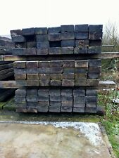More details for reclaimed treated railway sleepers 8ft 6in