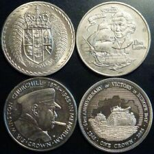 4 Crowns: 1967 New Zealand,1980 Gibraltar,1990 Isle of Man,2005 Tristan Da Cunha