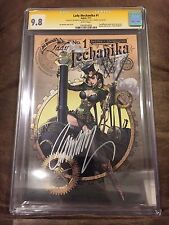 LADY MECHANIKA #1 VARIANT CGC 9.8 SIGNED J SCOTT CAMPBELL & JOE BENITEZ (ASPEN)