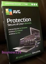 AVG Protection 2016 UNLIMITED Devices 1Year - Internet Security, AntiVirus