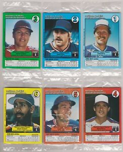 1987 General Mills Canada Booklet Set - Mattingly, Clemens Etc. In Cello Packs