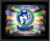 Minnesota Timberwolves 10.5x13 Hardwood Classics Team Logo Plaque - Fanatics