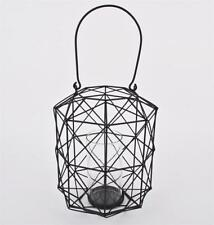 Bougeoirs et photophores de décoration intérieure de la maison lanternes moderne en métal